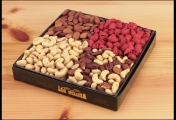 <h5>#10 - 2lb Gift Assortment $37.50*</h5><p>A traditional favorite: Premium Whole Cashews, Roasted Almonds, Delight Mix and California Natural Pistachios. Gift #10 contains 2lb (908g) of edible product.   SKU:   (GIF00010)    *$37.50 plus $3.00 handling per gift and $12.65 USPS Priority Mail within the U.S.A.  The accompanying greeting card will be included in the package and the price includes mail tracking and up to $50 insurance.  Contact us for out of the U.S.A. postage prices.</p>