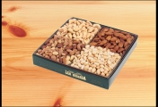 <h5>#11 - 2lb Gift Assortment $32.95*</h5><p>A delightful combination: Premium Whole Cashews, Roasted Almonds, Sweet Mix and Blanched Peanuts. Gift #11 contains 2lb 2oz (964g) of edible product.  SKU:   (GIF00011)    *$32.95 plus $3.00 handling per gift and $12.65 USPS Priority Mail within the U.S.A.  The accompanying greeting card will be included in the package and the price includes mail tracking and up to $50 insurance.  Contact us for out of the U.S.A. postage prices.</p>