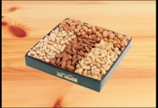 <h5>#13 - 2lb Gift Assortment $26.95*</h5><p>Just right for the young or the young at heart: Butter Toffee Peanuts, Roasted Almonds, Blanched Peanuts and Premium Whole Cashews. Gift #13 contains 2lb 1oz (936g) of edible product.  SKU:   (GIF00013)    *$26.95 plus $3.00 handling per gift and $12.65 USPS Priority Mail within the U.S.A.  The accompanying greeting card will be included in the package and the price includes mail tracking and up to $50 insurance.  Contact us for out of the U.S.A. postage prices.</p>