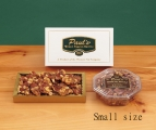<h5>#93 - Paul's Mixed Nut Brittle - 12 oz. $12.50*</h5><p>Our special blend of fresh, high quality ingredients produce the unsurpassed delicious, buttery taste our customers find irresistible. Contains 12oz (340g) of Mixed Nut Brittle. (Plastic container is delivered unwrapped.) SKU:   (GIF00093)     *$12.50 plus $3.00 handling per gift and $12.65 USPS Priority Mail within the U.S.A.  The accompanying greeting card will be included in the package and the price includes mail tracking and up to $50 insurance.  Contact us for out of the U.S.A. postage prices.</p>