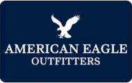 <h5>American Eagle Outfitters Gift Card  $25 or $50*</h5><p>AE Gift Cards are always the perfect gift! AE offers high-quality, on-trend clothing, accessories and personal care products at affordable prices.   *Face value of gift card plus $3.00 handling per gift card. The gift card and accompanying greeting card will be sent USPS First Class Parcel within the U.S.A, which includes mail tracking.  Insurance can be added.  See FAQ/Pricing tab for insurance pricing.  Contact us for out of the U.S.A. postage prices.</p>