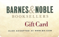 <h5>Barnes & Noble Gift Card    $25 or $50*</h5><p>Find bestselling books, new fiction, nonfiction, paperbacks, DVDs, Music, Toys & Games.   *Face value of gift card plus $3.00 handling per gift card. The gift card and accompanying greeting card will be sent USPS First Class Parcel within the U.S.A, which includes mail tracking.  Insurance can be added.  See FAQ/Pricing tab for insurance pricing.  Contact us for out of the U.S.A. postage prices.</p>
