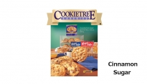 <h5>Mega Bite Cinnamon Sugar Cookie  4-Pak  $7.50*</h5><p>Cookietree cookies are irresistible fresh-baked gourmet flavor, without baking.  Package includes 4 individually wrapped cookies.  Each cookie weights in at 3.5 oz.    *$7.50 plus $3.00 handling per gift and $5.95 USPS Priority Mail within the U.S.A.  The accompanying greeting card will be included in the package and the price includes mail tracking and up to $50 insurance.  Contact us for out of the U.S.A. postage prices.</p>