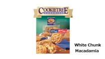 <h5>Mega Bite White Chunk Macadamia Cookie  4-Pak  $8.00*</h5><p>Cookietree cookies are irresistible fresh-baked gourmet flavor, without baking.  Package includes 4 individually wrapped cookies.  Each cookie weights in at 3.5 oz.    *$8.00 plus $3.00 handling per gift and $5.95 USPS Priority Mail within the U.S.A.  The accompanying greeting card will be included in the package and the price includes mail tracking and up to $50 insurance.  Contact us for out of the U.S.A. postage prices.</p>