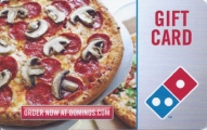 <h5>Domino's Gift Card  $20*</h5><p>Pizza, Oven Baked Sandwiches, Pasta, Bread Sides, Wings, Desserts.   *Face value of gift card plus $3.00 handling per gift card. The gift card and accompanying greeting card will be sent USPS First Class Parcel within the U.S.A, which includes mail tracking.  Insurance can be added.  See FAQ/Pricing tab for insurance pricing.  Contact us for out of the U.S.A. postage prices.</p>