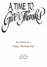 <h5>Give Thanks V305</h5>