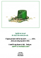 <h5>Green Hat in Gold Coins V51</h5>
