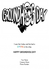 <h5>Groundhog Day V219</h5>
