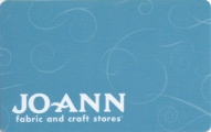 <h5>Jo-Ann Gift Card  $15 or $25*</h5><p>Inspire a great project.    *Face value of gift card plus $3.00 handling per gift card. The gift card and accompanying greeting card will be sent USPS First Class Parcel within the U.S.A, which includes mail tracking.  Insurance can be added.  See FAQ/Pricing tab for insurance pricing.  Contact us for out of the U.S.A. postage prices.</p>