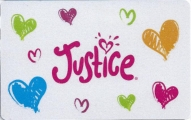 <h5>Justice Gift Card  $50*</h5><p>Justice sells a variety of apparel, swimwear, footwear and accessories for the active, fashion-aware 'tween girl.    *Face value of gift card plus $3.00 handling per gift card. The gift card and accompanying greeting card will be sent USPS First Class Parcel within the U.S.A, which includes mail tracking.  Insurance can be added.  See FAQ/Pricing tab for insurance pricing.  Contact us for out of the U.S.A. postage prices.</p>
