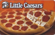 <h5>Little Caesars Gift Card  $15*</h5><p>Always Fresh!  Always Hot!  Always Ready!   *Face value of gift card plus $3.00 handling per gift card. The gift card and accompanying greeting card will be sent USPS First Class Parcel within the U.S.A, which includes mail tracking.  Insurance can be added.  See FAQ/Pricing tab for insurance pricing.  Contact us for out of the U.S.A. postage prices.</p>