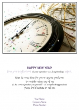 <h5>New Year Confetti Clock V247</h5>