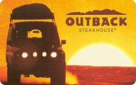 <h5>Outback Gift Card  $25 or $50*</h5><p>Dine in steakhouse.  It's always fresh in the OUTBACK.   *Face value of gift card plus $3.00 handling per gift card. The gift card and accompanying greeting card will be sent USPS First Class Parcel within the U.S.A, which includes mail tracking.  Insurance can be added.  See FAQ/Pricing tab for insurance pricing.  Contact us for out of the U.S.A. postage prices.</p>