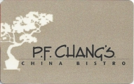 <h5>P.F. Chang's Gift Card  $25 or $50*</h5><p>Share good fortune and delicious Chinese cuisine with a P.F. Chang's Gift Card.    *Face value of gift card plus $3.00 handling per gift card. The gift card and accompanying greeting card will be sent USPS First Class Parcel within the U.S.A, which includes mail tracking.  Insurance can be added.  See FAQ/Pricing tab for insurance pricing.  Contact us for out of the U.S.A. postage prices.</p>