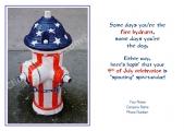 <h5>Patriotic Hydrant V190</h5>