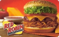 <h5>Red Robin Gift Card  $25 or $50*</h5><p>Red Robin Gourmet Burgers, Inc., is a casual dining restaurant chain specializing in over two dozen different types of delicious gourmet burgers. Red Robin also has a large selection of appetizers, side dishes, salads, desserts and its signature Mad Mixology® specialty beverages. Red Robin Gift Cards are redeemable at 400+ Red Robin® restaurants located across the United States including corporate-owned locations.   *Face value of gift card plus $3.00 handling per gift card. The gift card and accompanying greeting card will be sent USPS First Class Parcel within the U.S.A, which includes mail tracking.  Insurance can be added.  See FAQ/Pricing tab for insurance pricing.  Contact us for out of the U.S.A. postage prices.</p>