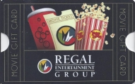 <h5>Regal Entertainment Group Gift Card  $25*</h5><p>Give the gift of movies! Regal gift cards are good towards admissions and concessions. Regal Entertainment Group is the largest motion picture exhibitor in the world and includes all Regal Cinemas, Edwards Theatres and United Artists Theatres. Regal Entertainment Group has over 530 locations in 40 states.   *Face value of gift card plus $3.00 handling per gift card. The gift card and accompanying greeting card will be sent USPS First Class Parcel within the U.S.A, which includes mail tracking.  Insurance can be added.  See FAQ/Pricing tab for insurance pricing.  Contact us for out of the U.S.A. postage prices.</p>