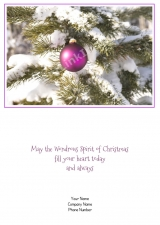 <h5>Seasons Greetings V354</h5>