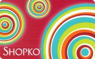 <h5>Shopko Gift Card   $15 or $25*</h5><p>Shopko has been dedicated to providing customers with quality merchandise and services at prices that communicate value since 1962. Shopko stores focus on customer lifestyles and meeting our customers' changing needs for casual apparel, home, family, and healthcare products.    *Face value of gift card plus $3.00 handling per gift card. The gift card and accompanying greeting card will be sent USPS First Class Parcel within the U.S.A, which includes mail tracking.  Insurance can be added.  See FAQ/Pricing tab for insurance pricing.  Contact us for out of the U.S.A. postage prices.</p>