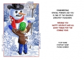 <h5>Snowman Masterpiece V340</h5>