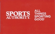 <h5>Sports Authority Gift Card  $25*</h5><p> Sports Authority - the nation's preeminent full-line sporting goods chain. Shop online or in-store at over 400 stores nationwide for your favorite brands - Nike, Under Armour, Adidas, Callaway, TaylorMade, Columbia, Easton, Bowflex and more.    *Face value of gift card plus $3.00 handling per gift card. The gift card and accompanying greeting card will be sent USPS First Class Parcel within the U.S.A, which includes mail tracking.  Insurance can be added.  See FAQ/Pricing tab for insurance pricing.  Contact us for out of the U.S.A. postage prices.</p>