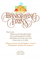 <h5>Thanksgiving Fixins V299</h5>