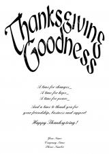 <h5>Thanksgiving Goodness V298</h5>