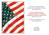 <h5>July Card</h5><p>Antique Flag V21</p>