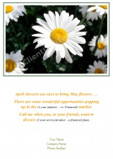 <h5>April Card</h5><p>Daisy Mae V229</p>