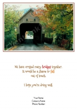 <h5>September Card</h5><p>Fall Bridge V523</p>