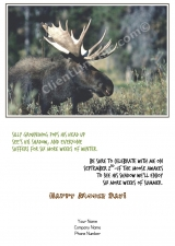 <h5>Moose Day</h5><p>End of Summer Card</p>